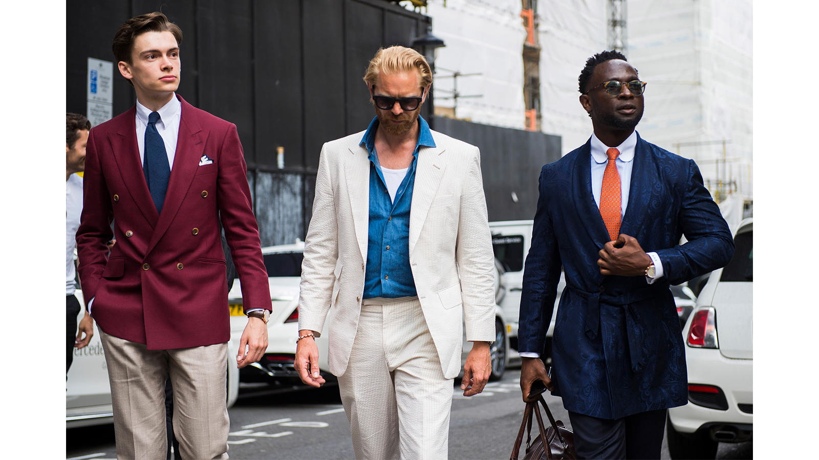 7 style tips for tall men - you can't go wrong with a suit